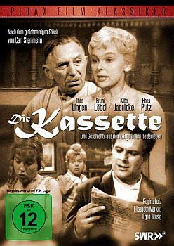 """""""Die Kassette"""": Abbildung DVD-Cover mit freundlicher Genehmigung von Pidax-Film, welche die Komödie Mitte Juni 2012 auf DVD herausbrachte."""