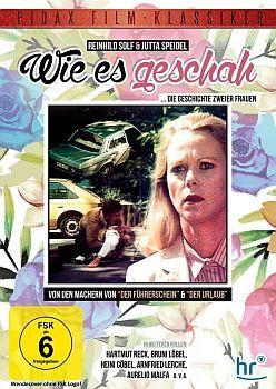 """""""Wie es geschah"""": Abbildung DVD-Cover mit freundlicher Genehmigung von Pidax-Film, welche das Drama Mitte August 2015 auf DVD herausbrachte."""