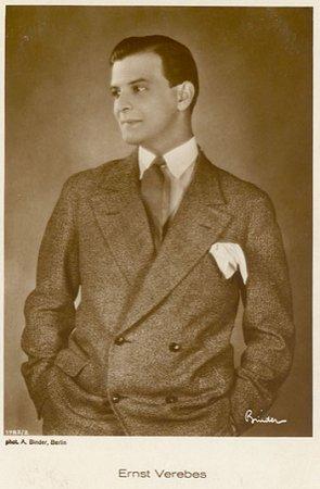 Ernst (Ernö) Verebes vor 1929; Urheber bzw. Nutzungsrechtinhaber: Alexander Binder (1888–1929); Quelle: www.cyranos.ch
