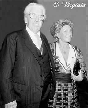 Willy Millowitsch und seine Frau Gerda; Copyright Virginia Shue